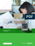 Complementary technical information by Schneider Electric