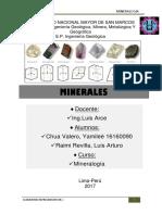 Minerales y Sisteman Que Criztalizan