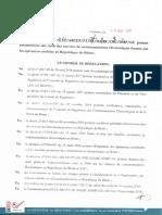 DECISION N_2018 _266 Portant Encardrement Des Tarifs Des Services de Communications Electroniques (Bénin)