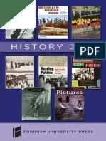 History 2017 brochure