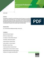 VCAPDCA Exam Blueprint Guide