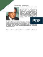 Biografia de Ciro Alegriaa