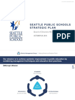 Presentation Strategic Plan 2018 to Seattle School Board