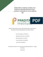 Perbandingan Teknik Dan Material Dengan Metode Penelitian Pada Proyek (Repaired) (Repaired)