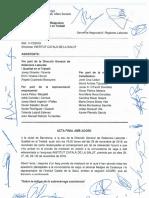 Acord entre l'ICS i el sindicat Metges de Catalunya
