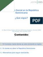 Protección Social en la República Dominicana