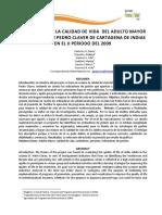 Informes de la calidad de vida de los adultos mayores en un recinto de Cartagena