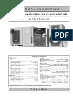 Manual de Serviços Toshiba - Mc855mus
