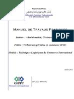 Techn Logistiques Commerce Internat Mtp Tsc