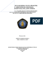 Laporan PKL (Magang) PT. Greenfields Indonesia