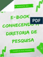E-book Conhecendo a Diretoria de Pesquisa