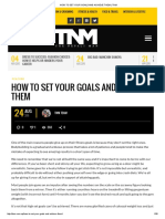 How to Set Your Goals and Achieve Them _ Tnm