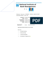 module i test paper NIBM RDT MGMT