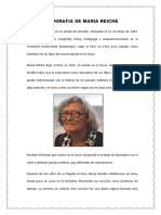Biografia de Maria Reiche