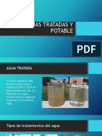 Aguas Tratadas y Potable