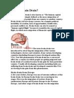Brain Drain What