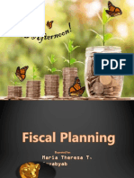 Chapter 10 Fiscal Planning
