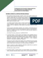 BOLETÍN 01 2018 Resumen Ley Orgánica Impulsar Reactivación Económica