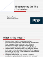 Electrical Engineering in the Oil & Gas Industries