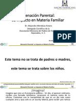 Conferencia Alienación Parental su Impacto en Materia Familiar