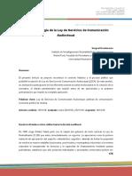 Breve Cronología de La Ley de Servicios de Comunicación Audiovisual