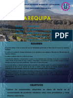 Salida de Campo Arequipa