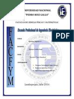 Informe Proyecto Sistemas