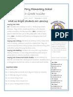4th grade newsletter 12-6-18