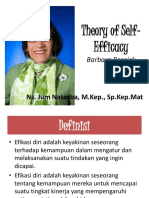 Barbara Resnick's Self Efficacy Theory and Its Applications