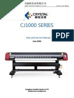 Cj1000 Series User Manual