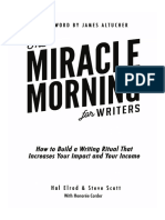 Miracle Morning for Writers PDF