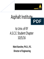 Asphalt Institute Presentation