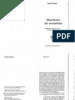 Andre Breton Manifiesto Surrealista (1)