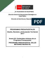 Definiciones Operacionales 2017-Salud Materno Neonatal.