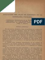 ARIZAGA - Aplicación Del Plan de Gobierno en La Enseñanza Primaria