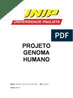 Projeto Genoma Humano Trabalho