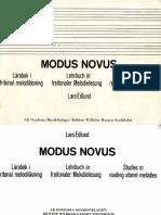 Livro Edlund ModusNovus 1963