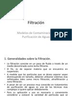 Tema N° 5 Filtración