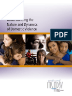 (2012) - Understanding the Nature and Dynamics of Domestic Violence [Documento]
