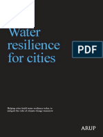Water Resilience for Cities