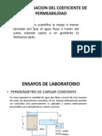 Determinacion Del Coeficiente de Permeabilidad