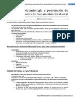Tema 18-Epidemiología y Prevención de Las Enfermedades de Transmisión Fecal-Oral