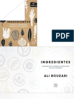 INGREDIENTES ALI BOUZARI