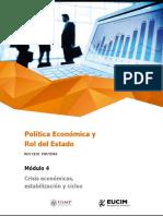Crisis Económicas, Estabilización y Ciclos