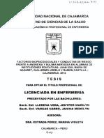 Factores Biopsicosociales