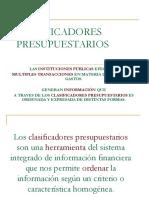 CLASIFICADORES PRESUPUESTARIOS.ppt