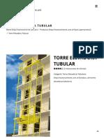 Torre Elevadora Tubular – Nuevos Aires Estructuras