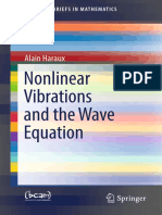 (SpringerBriefs in Mathematics) Alain Haraux-Nonlinear Vibrations and the Wave Equation-Springer International Publishing (2018)
