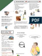 Diabetes - Panfleto