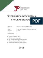 Estadistica Descriptiva y Probabilidades.
